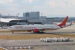 uhfxさんが、関西国際空港で撮影したエア・インディア 777-337/ERの航空フォト(飛行機 写真・画像)