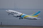 xxxxxzさんが、羽田空港で撮影したAIR DO 737-781の航空フォト(飛行機 写真・画像)