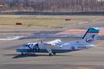 xxxxxzさんが、新千歳空港で撮影したサハリン航空 DHC-8-201Q Dash 8の航空フォト(飛行機 写真・画像)