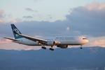 uhfxさんが、関西国際空港で撮影したニュージーランド航空 767-319/ERの航空フォト(飛行機 写真・画像)