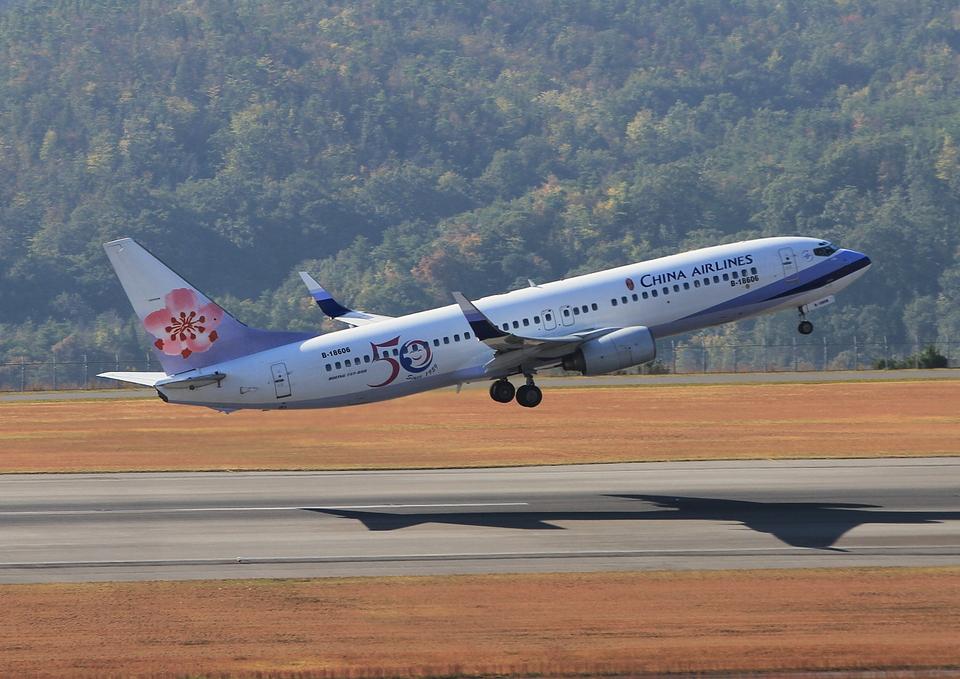 ふじいあきらさんのチャイナエアライン Boeing 737-800 (B-18606) 航空フォト