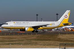 PINK_TEAM78さんが、成田国際空港で撮影したロイヤルブルネイ航空 A320-232の航空フォト(飛行機 写真・画像)