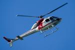 パンダさんが、羽田空港で撮影した朝日航洋 AS355F1 Ecureuil 2の航空フォト(写真)