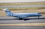 パンダさんが、羽田空港で撮影した国土交通省 航空局 BD-700-1A10 Global Expressの航空フォト(飛行機 写真・画像)