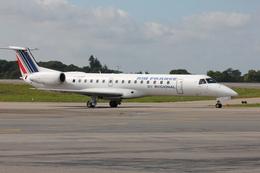 taka777さんが、ナント・アトランティック空港で撮影したレジォナル ERJ-145MPの航空フォト(飛行機 写真・画像)