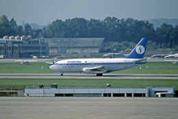 Gambardierさんが、ジュネーヴ・コアントラン国際空港で撮影したサベナ・ベルギー航空 737-229/Advの航空フォト(飛行機 写真・画像)