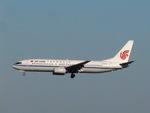 aquaさんが、成田国際空港で撮影した中国国際航空 737-86Nの航空フォト(飛行機 写真・画像)