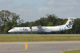 taka777さんが、ナント・アトランティック空港で撮影したフライビー DHC-8-402Q Dash 8の航空フォト(飛行機 写真・画像)
