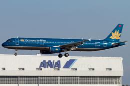 PINK_TEAM78さんが、成田国際空港で撮影したベトナム航空 A321-231の航空フォト(飛行機 写真・画像)