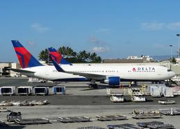 Bokuranさんが、ダニエル・K・イノウエ国際空港で撮影したデルタ航空 767-332/ERの航空フォト(写真)