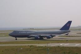 meijeanさんが、関西国際空港で撮影したユナイテッド航空 747-451の航空フォト(飛行機 写真・画像)