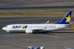 Scotchさんが、羽田空港で撮影したスカイマーク 737-8ALの航空フォト(飛行機 写真・画像)
