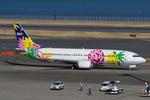 Scotchさんが、羽田空港で撮影したスカイネットアジア航空 737-43Qの航空フォト(飛行機 写真・画像)
