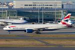 Scotchさんが、羽田空港で撮影したブリティッシュ・エアウェイズ 777-236/ERの航空フォト(飛行機 写真・画像)