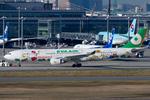 Scotchさんが、羽田空港で撮影したエバー航空 A330-302Xの航空フォト(飛行機 写真・画像)