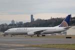うっきーさんが、ボーイングフィールドで撮影したユナイテッド航空 737-824の航空フォト(写真)