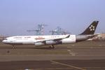 WING_ACEさんが、ニューアーク・リバティー国際空港で撮影したルフトハンザドイツ航空 A340-211の航空フォト(飛行機 写真・画像)