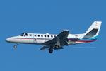 Scotchさんが、羽田空港で撮影した朝日新聞社 560 Citation Encoreの航空フォト(写真)