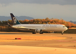 ふじいあきらさんが、広島空港で撮影したニュージーランド航空 767-319/ERの航空フォト(飛行機 写真・画像)