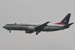 hiko_chunenさんが、成田国際空港で撮影したタイ政府 737-4Z6の航空フォト(写真)