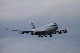 MOHICANさんが、関西国際空港で撮影したキャセイパシフィック航空 747-412(BCF)の航空フォト(飛行機 写真・画像)