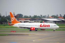 まいけるさんが、スカルノハッタ国際空港で撮影したライオン・エア 737-9GP/ERの航空フォト(飛行機 写真・画像)