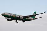 SKYLINEさんが、仙台空港で撮影したエバー航空 A330-203の航空フォト(写真)