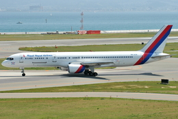 jun☆さんが、関西国際空港で撮影したロイヤル・ネパール航空 757-2F8Cの航空フォト(飛行機 写真・画像)