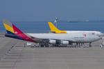 Scotchさんが、中部国際空港で撮影したアシアナ航空 747-48EF/SCDの航空フォト(写真)