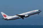 Scotchさんが、中部国際空港で撮影した中国国際航空 737-808の航空フォト(飛行機 写真・画像)