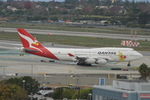 kumakumaさんが、ロサンゼルス国際空港で撮影したカンタス航空 747-438の航空フォト(写真)