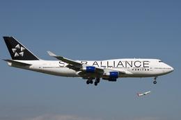 hiko_chunenさんが、成田国際空港で撮影したユナイテッド航空 747-422の航空フォト(写真)