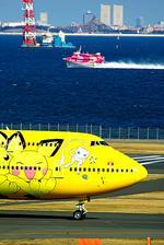 rjnsphotoclub-No.07さんが、羽田空港で撮影した全日空 747-481(D)の航空フォト(写真)