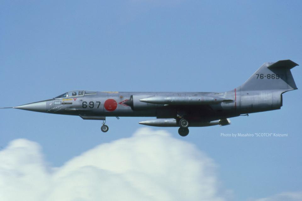 Scotchさんの航空自衛隊 Mitsubishi F-104 (76-8697) 航空フォト