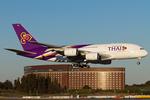 PINK_TEAM78さんが、成田国際空港で撮影したタイ国際航空 A380-841の航空フォト(写真)