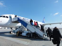 kazu0305さんが、アティラウ空港で撮影したエア・アスタナ A320-232の航空フォト(飛行機 写真・画像)