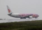 ふじいあきらさんが、広島空港で撮影した中国国際航空 737-86Nの航空フォト(飛行機 写真・画像)