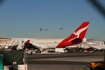 matsuさんが、ロサンゼルス国際空港で撮影したカンタス航空 747-438/ERの航空フォト(飛行機 写真・画像)