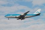 matsuさんが、ロサンゼルス国際空港で撮影したKLMオランダ航空 747-406Mの航空フォト(写真)