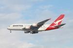matsuさんが、ロサンゼルス国際空港で撮影したカンタス航空 A380-842の航空フォト(飛行機 写真・画像)