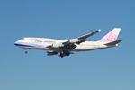 matsuさんが、ロサンゼルス国際空港で撮影したチャイナエアライン 747-409の航空フォト(写真)