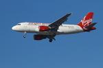 matsuさんが、ロサンゼルス国際空港で撮影したヴァージン・アメリカ A319-112の航空フォト(写真)