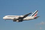matsuさんが、ロサンゼルス国際空港で撮影したエールフランス航空 A380-861の航空フォト(飛行機 写真・画像)