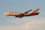matsuさんが、ロサンゼルス国際空港で撮影したアシアナ航空 747-48EM(BDSF)の航空フォト(飛行機 写真・画像)