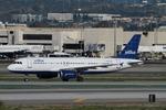 matsuさんが、ロサンゼルス国際空港で撮影したジェットブルー A320-232の航空フォト(飛行機 写真・画像)