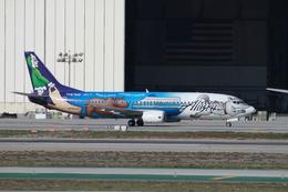 matsuさんが、ロサンゼルス国際空港で撮影したアラスカ航空 737-490の航空フォト(飛行機 写真・画像)