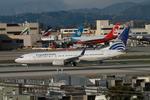 matsuさんが、ロサンゼルス国際空港で撮影したコパ航空 737-86Nの航空フォト(写真)