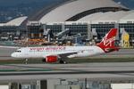 matsuさんが、ロサンゼルス国際空港で撮影したヴァージン・アメリカ A320-214の航空フォト(写真)
