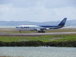 オークランド空港 - Auckland Airport [AKL/NZAA]で撮影されたラン航空 - LAN [LA/LAN]の航空機写真