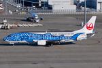 Scotchさんが、中部国際空港で撮影した日本トランスオーシャン航空 737-4Q3の航空フォト(写真)